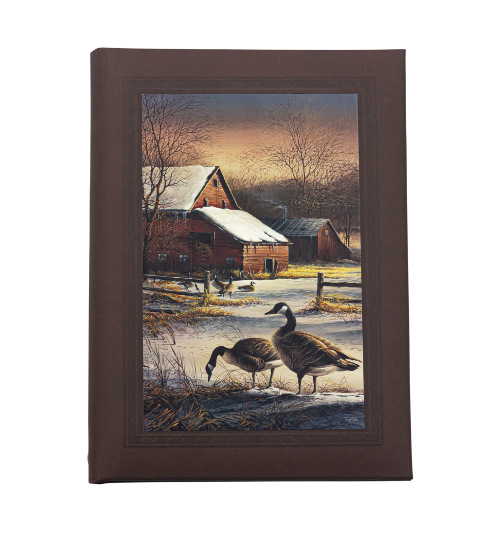Barn and Geese Printed Cover
