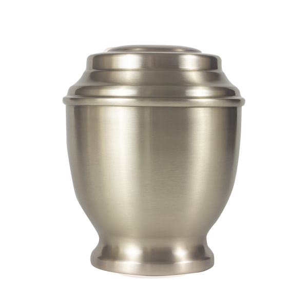 Sentinal Brass with Pewter Colour Finish Urn