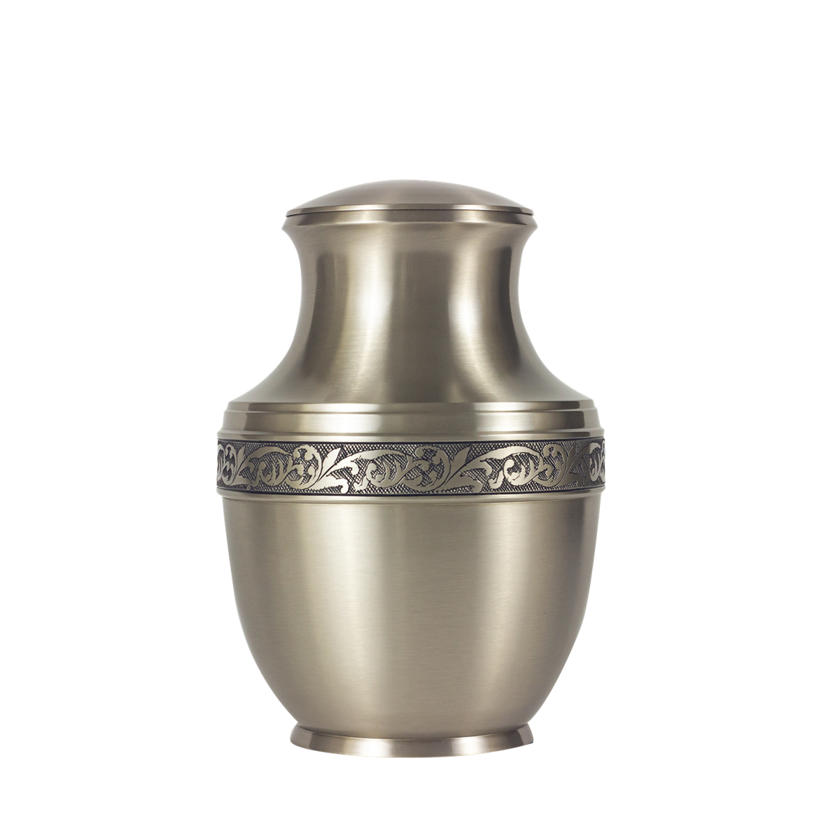 Patrician Brass with Pewter Finish Urn