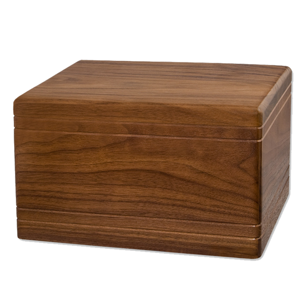Nova Boxwood Walnut or Cherry Finish Urn