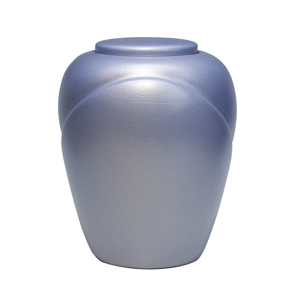 Aqua Blue Water Soluble Urn