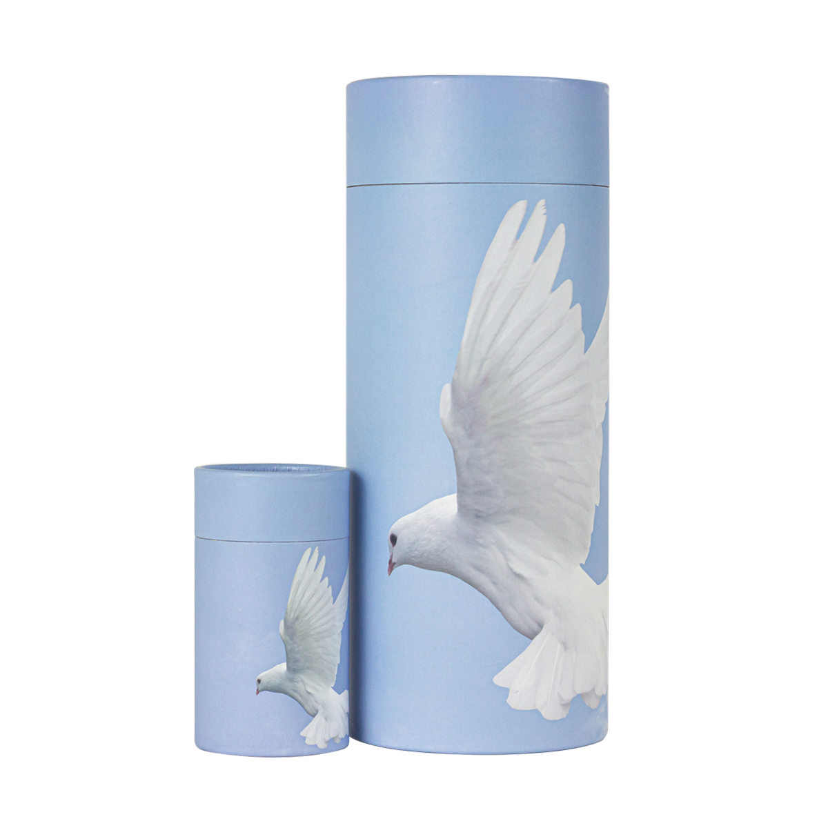 Dove Scattering Urn and Keepsake