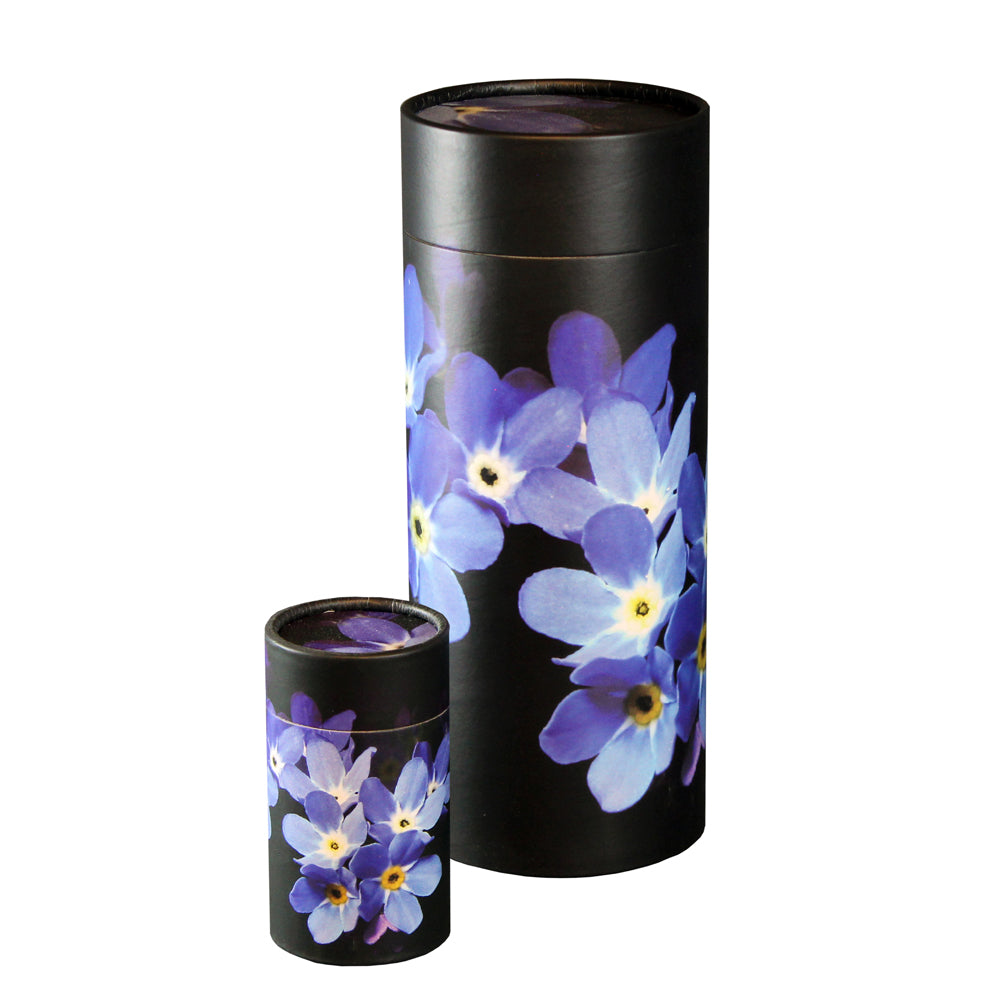 Forget Me Not Scattering Urn and Keepsake