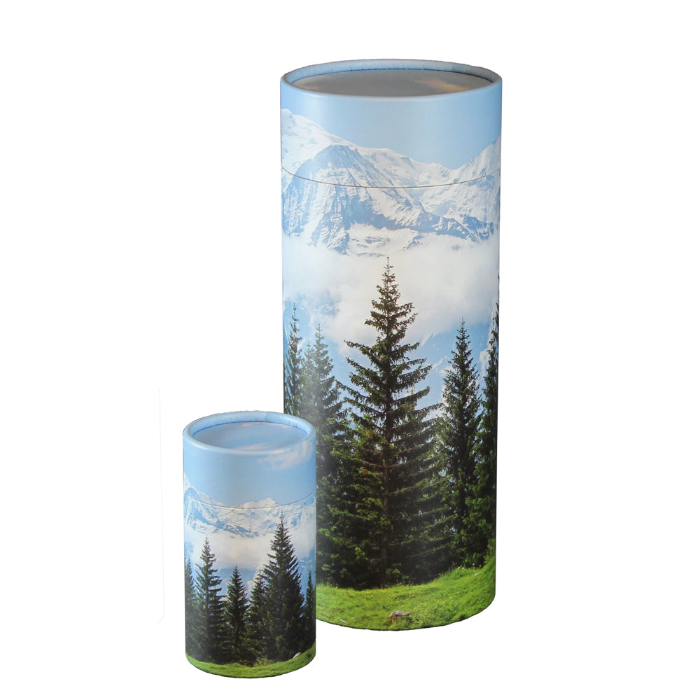 Mountain Scattering Urn and Keepsake