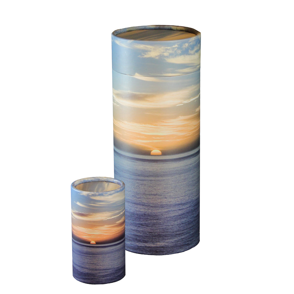 Ocean  Sunset Scattering Urn and Keepsake