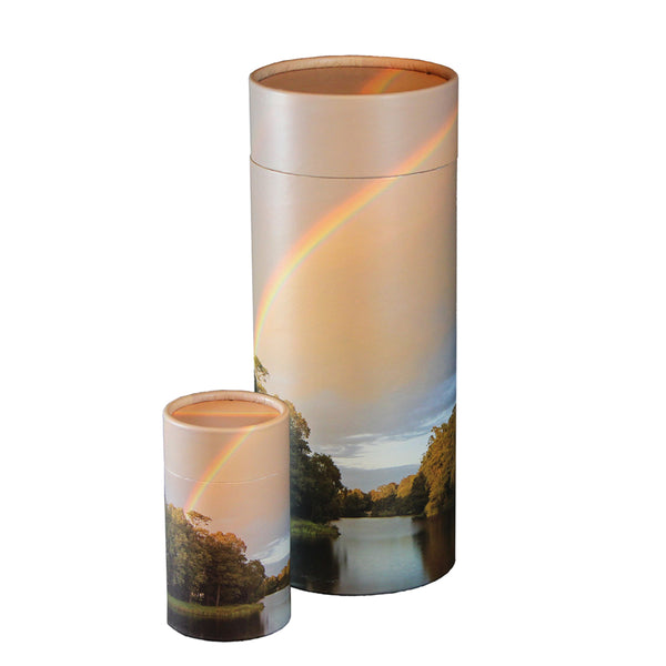 Rainbow Pond Scattering Urn and Keepsake