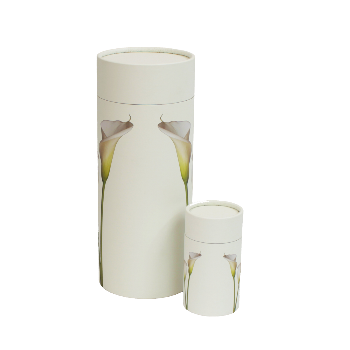 Lily Scattering Urn and Keepsake