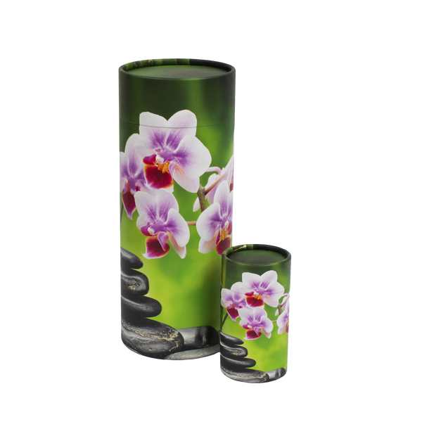 Orchid Scattering Urn and Keepsake