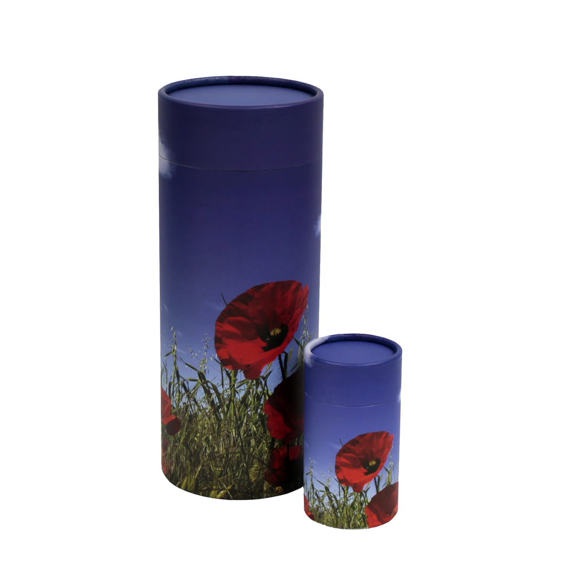 Poppy Scattering Urn and Keepsake