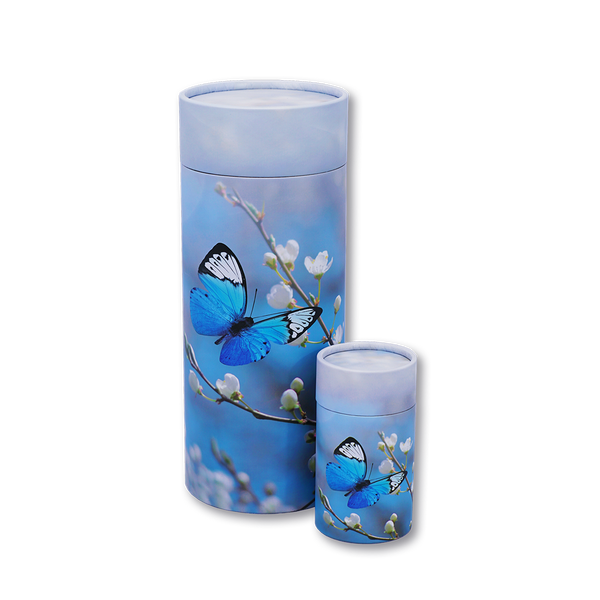 Butterfly Blossom Urn and Keepsake