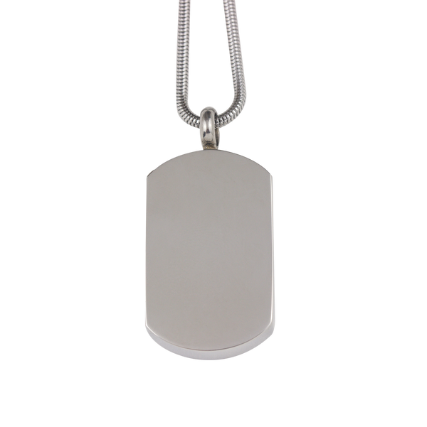 Dog Tag Stainless Steel Pendant