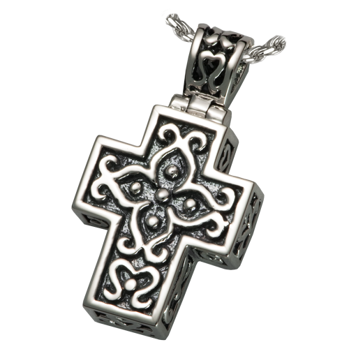 Filligree Cross Sterling Silver Penant
