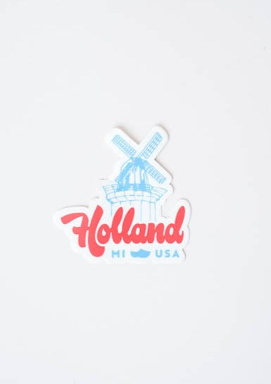 Holland Windmill Sticker, Joey Carty, - Frances Jaye