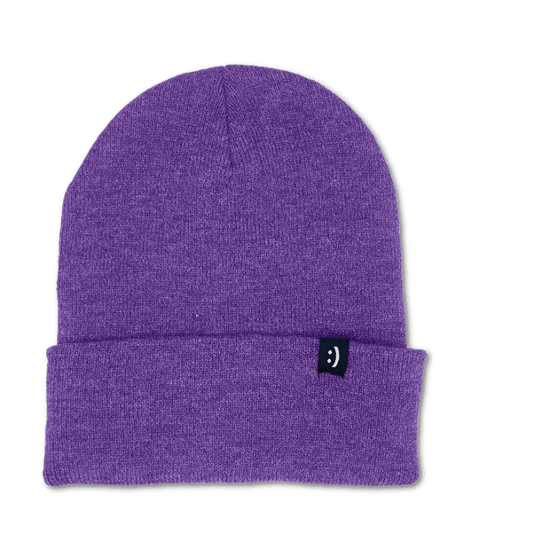 Flip Beanie Purple Heather