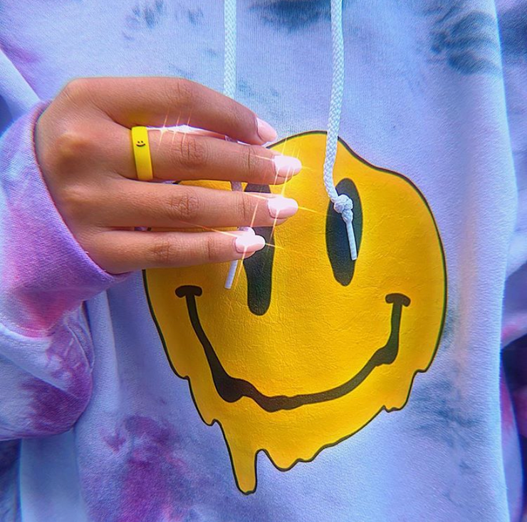 Flip Reversible smile / frown