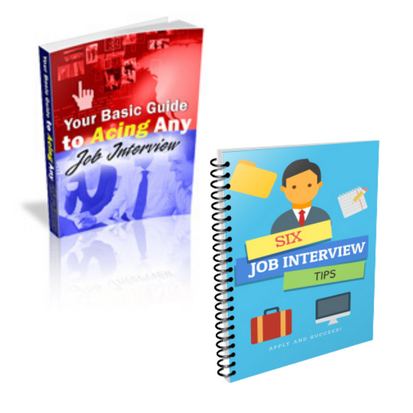 The Work From Home Wife | Job Interview Ebook Bundle