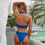 Open Back Swimsuit Sexy One Piece Bikini