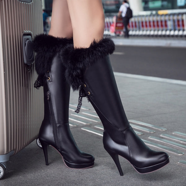 Sexy fashion knight boots