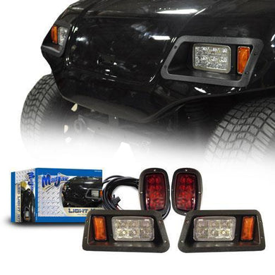 Madjax LED Light Kit w/Basic Harness & Old Style Bezel for YamG22