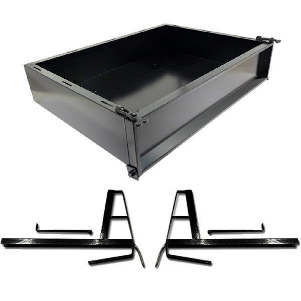 GTW CARGO BOX KIT, STEEL CC DS 2000-UP