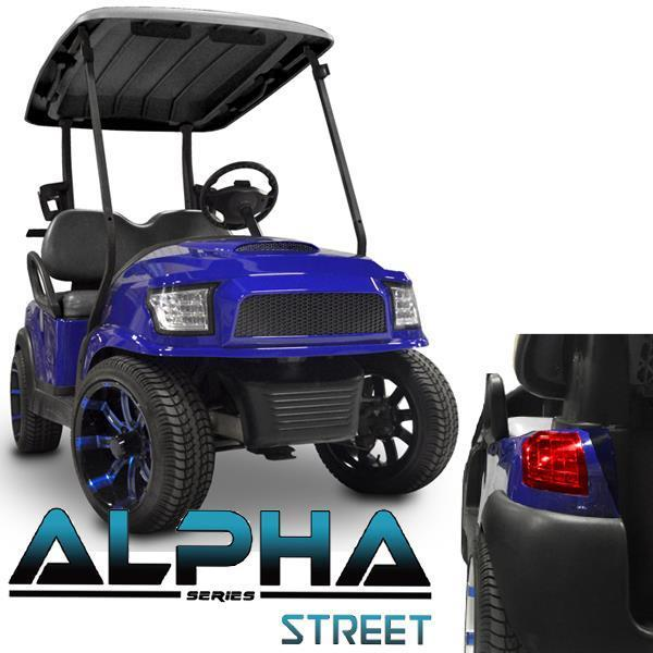 Madjax Blue Alpha (PREC) Body Kit w/ Street Style Grill & Light Kit