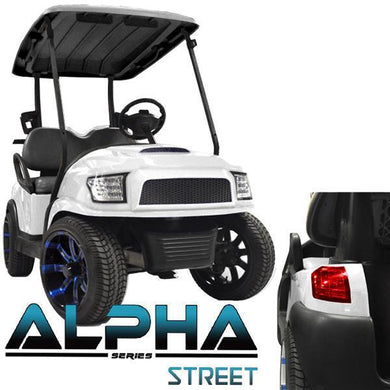 Madjax White Alpha (PREC) Body Kit w/Street Style Grill & Light Kit
