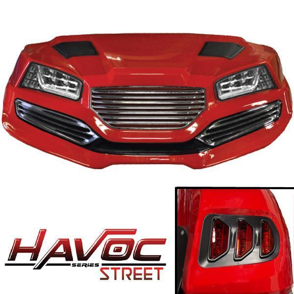 Madjax Red Havoc (DR) Body Kit w/ Street Style Fascia & Light Kit