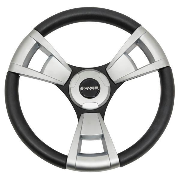 Gussi Model 13 Soft Touch Steering Wheel (Aluminum)(Club Car HUB)