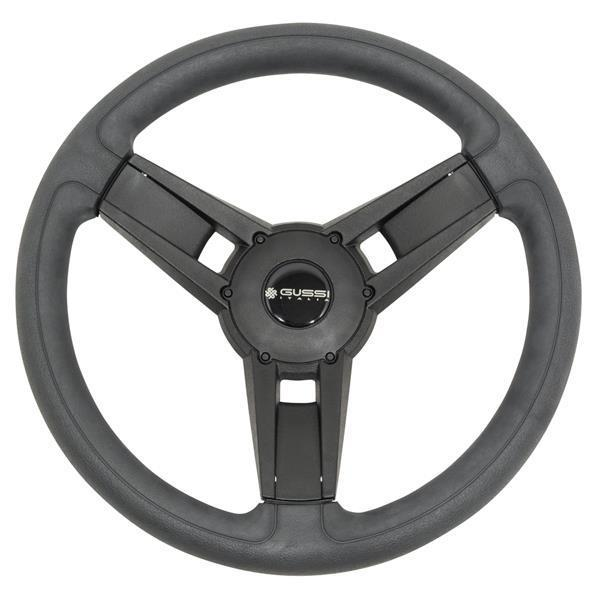 Gussi Giazza Soft Touch Steering Wheel (Black)(Club Car HUB)