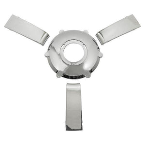 Gussi Giazza Steering Wheel Chrome Insert set