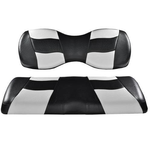 Madjax RIPTIDE Black/White 2Tone Rear Seat Covers for G250/300
