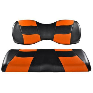 Madjax Deluxe Riptide Blk/Org Two-Tone Rear Cushion Set G250/300