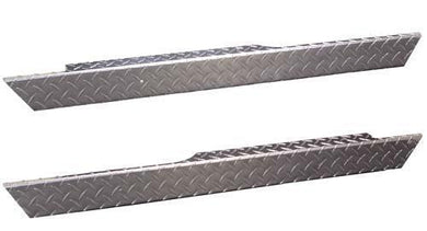 Jakes SIDE PANEL SET,DIA,EZ MED/TXT DIAMOND PLATE