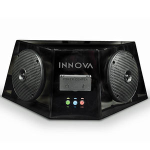 INNOVA INNOVA Speaker Box Kit w/ Mini-Amp, Bluetooth, PowerCenter