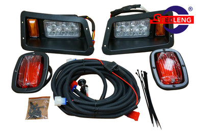 YAMAHA G14-G22 GOLF CART ADJUSTABLE LED HEADLIGHTS / TAIL LIGHTS