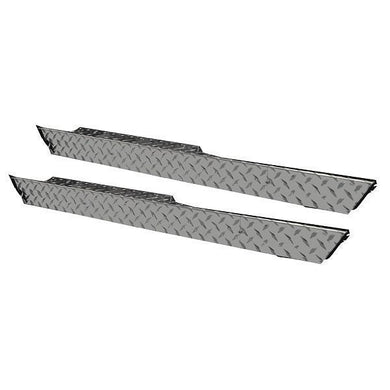 Madjax Diamond Plate Side Skirts (Pair) for Club Car DS