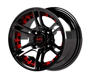 Madjax Red Inserts for Mirage 10x7 Wheel