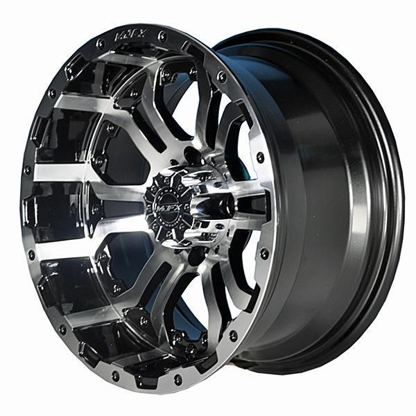 Madjax OMEGA 12x7 Machined/Black Wheel