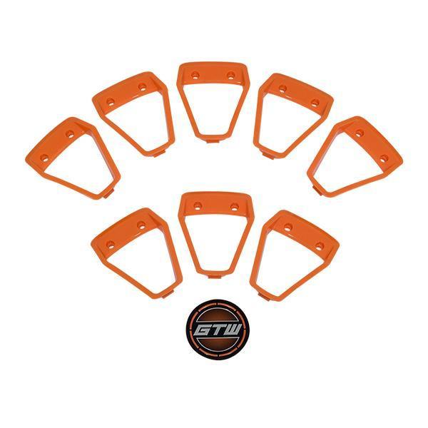 GTW Orange Inserts for GTW Nemesis 12x7 Wheel