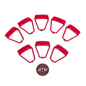 GTW Red Inserts for GTW Nemesis 12x7 Wheel