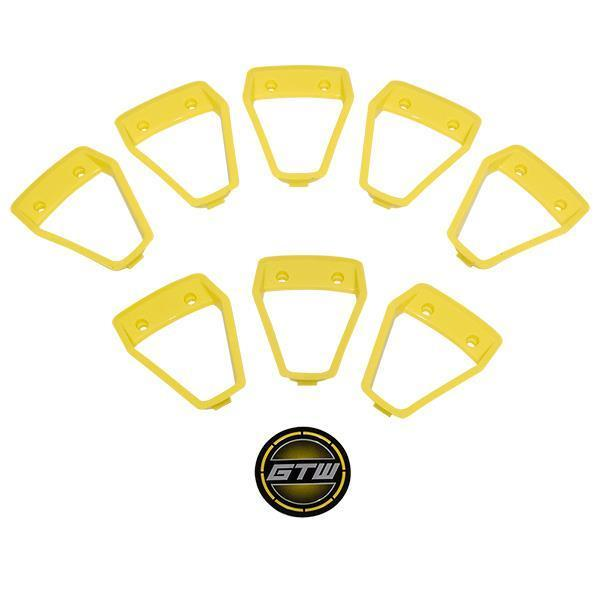 GTW Yellow Inserts for GTW Nemesis 12x7 Wheel