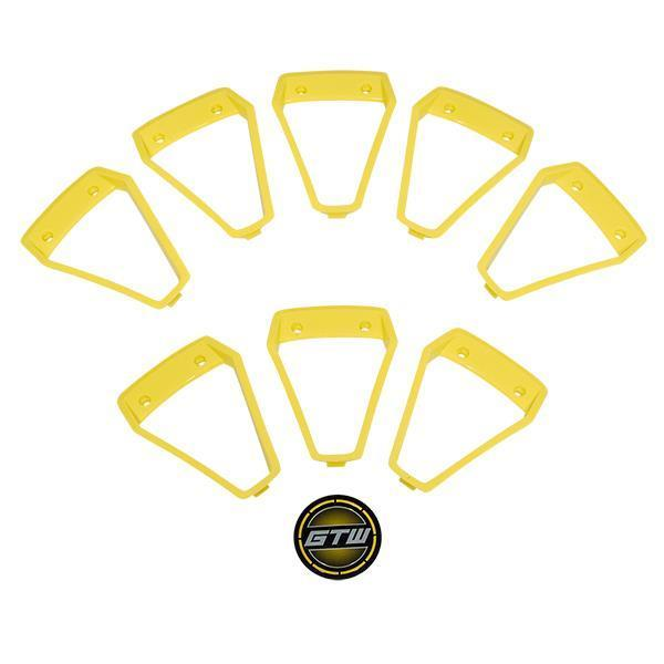 GTW Yellow Inserts for GTW Nemesis 14x7 Wheel