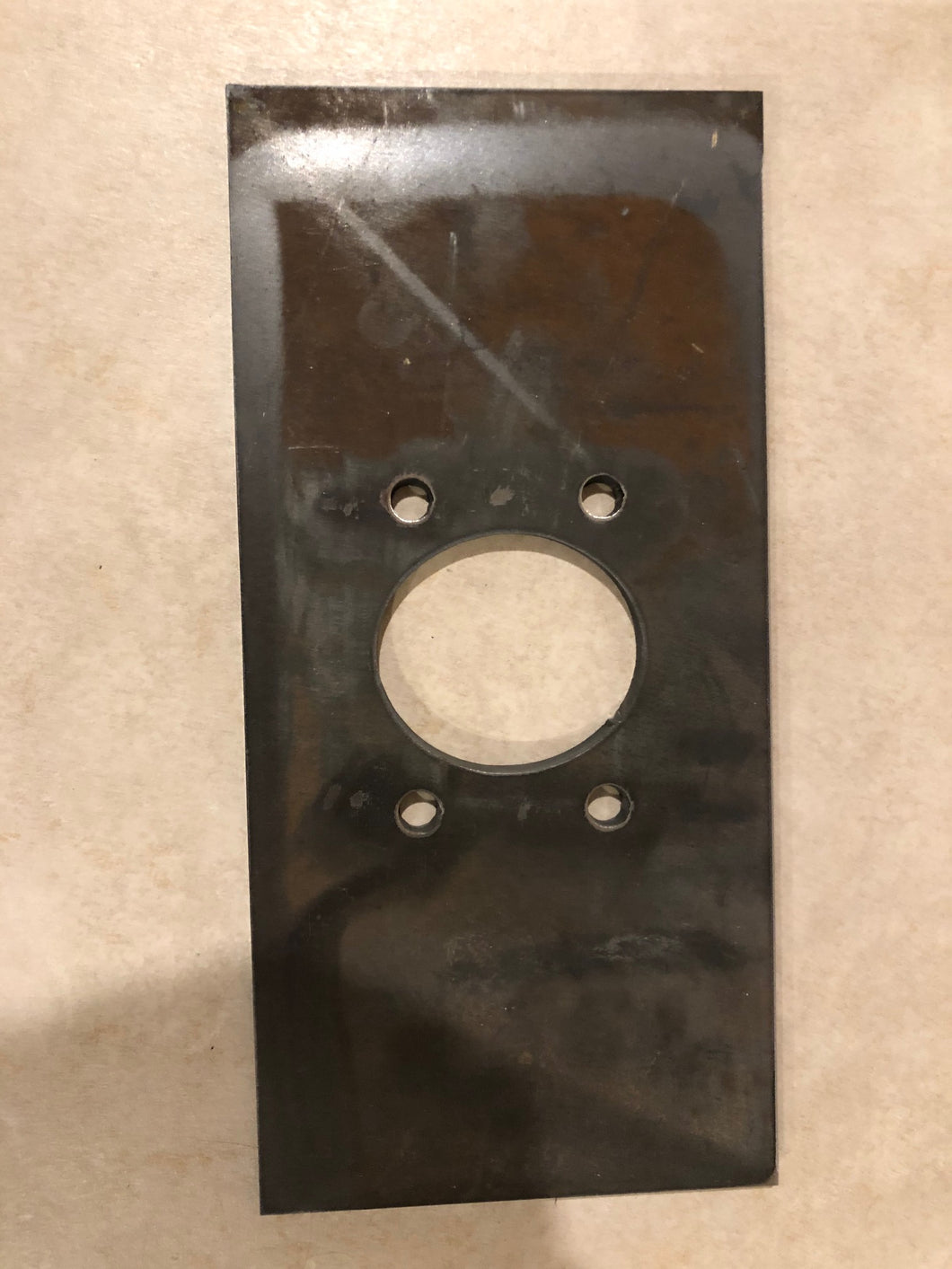 EZGO 4 bolt steering conversion plate