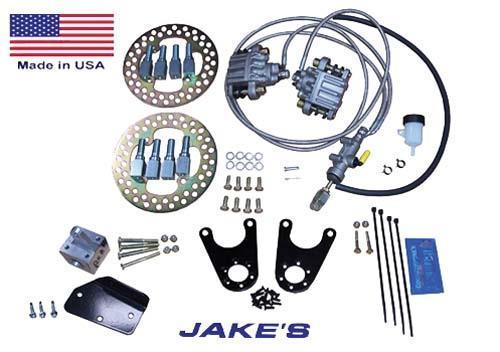 Jakes Hydraulic brakes CC 81-08½ DS w/spindle