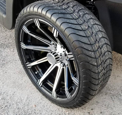 Achieva CROWN 15X6 WITH 205/35/15R TIRES MACHINED / BLACK