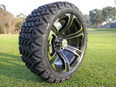 Achieva ARMOR 15X7 WITH 23X10.50-15R TIRES MACHINED / BLACK