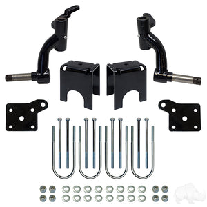 "EZGO TXT Lift kits.  Axle/spindle/ 3"", 5"", 6"""