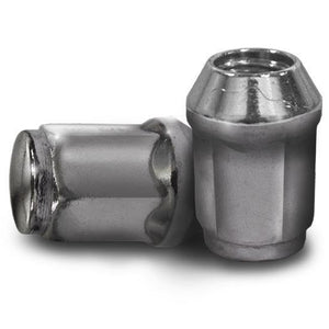 Madjax 100 Pack 12mm x 1.25 Metric Lug Nuts - Chrome