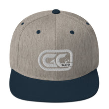 Load image into Gallery viewer, Golf Carts Modified GCMod white logo classic snapback hat