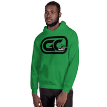 Load image into Gallery viewer, Golf Carts Modified GCMod Black logo unisex Hoodie